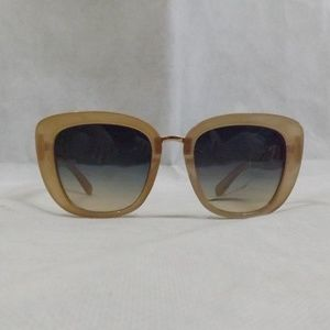 NWT Womens TAHARI Sunglasses - Champagne Gold